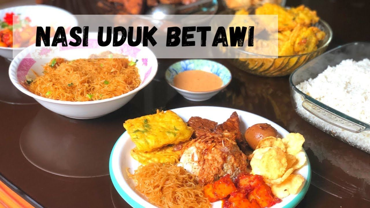 Nasi Uduk Betawi Resep Masakan Indonesia Masakan Indonesia Resep Makanan