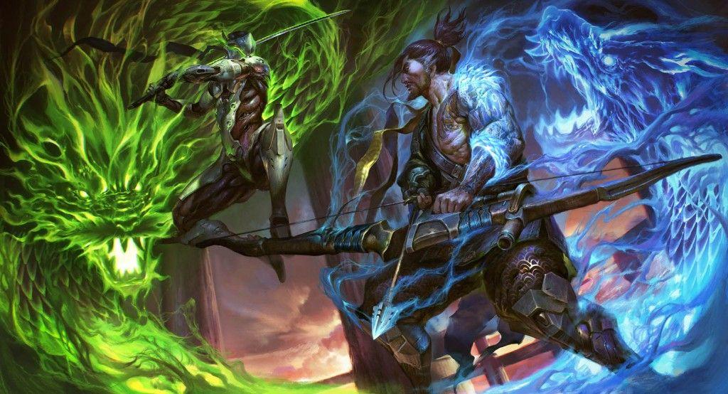 Hanzo Overwatch Overwatch Hanzo Overwatch Dragons Overwatch Wallpapers