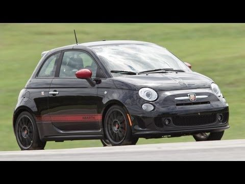 CARS - 2013 Fiat 500 Abarth - 2013 Lightning Lap - LL1 Class - CAR and DRIVER - http://lesvoitures.fr/2013-fiat-500-abarth-2013-lightning-lap-ll1-class-car-and-driver/