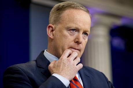Sean Spicer's comments on Syrian President Bashar al-Assad and Adolf Hitler drew ire on social media