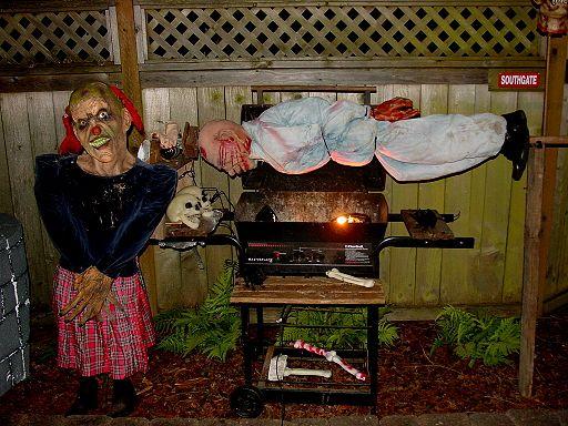 diy bbq Halloween Pinterest Haunted houses, Halloween camping - halloween haunted house ideas