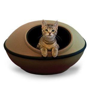 K&H Mod Dream Pod Heated pet beds, Pets, Heated cat bed