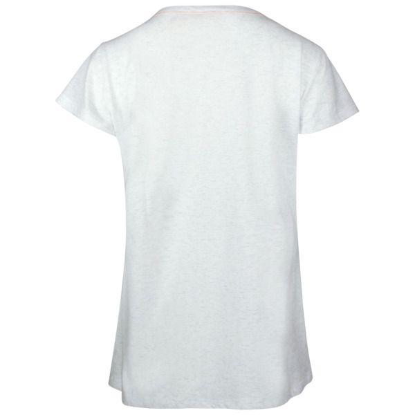 comazo | earth Fairtrade Shirt 1/4 Arm, Lachs und Ecru-Melange  – Products