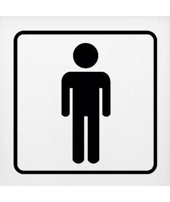 Hombre Cortado En 2020 Letreros Para Banos Bano De Hombres Y