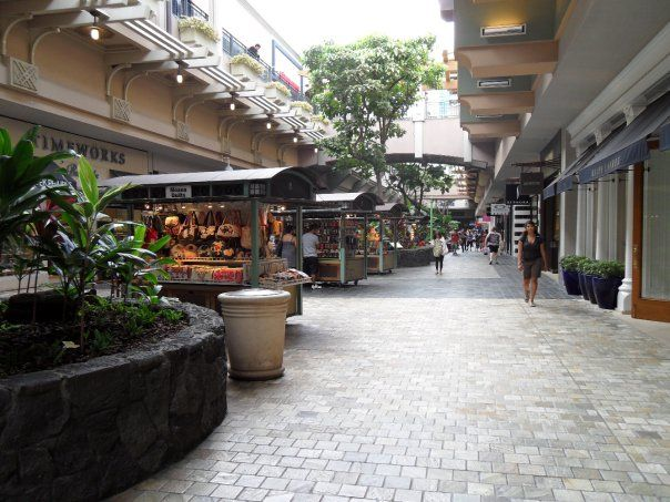 Ala Moana Shopping Center, Oahu, HI #visited #usa #hawaii
