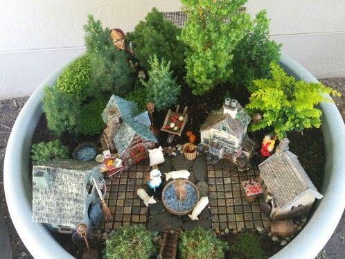 Beauty And The Beast Garden Miniature Garden Fairy Garden Beauty And The Beast
