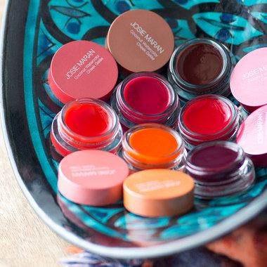 Josie Maran Coconut Watercolor Cheek Gel Blush Makeup Cream