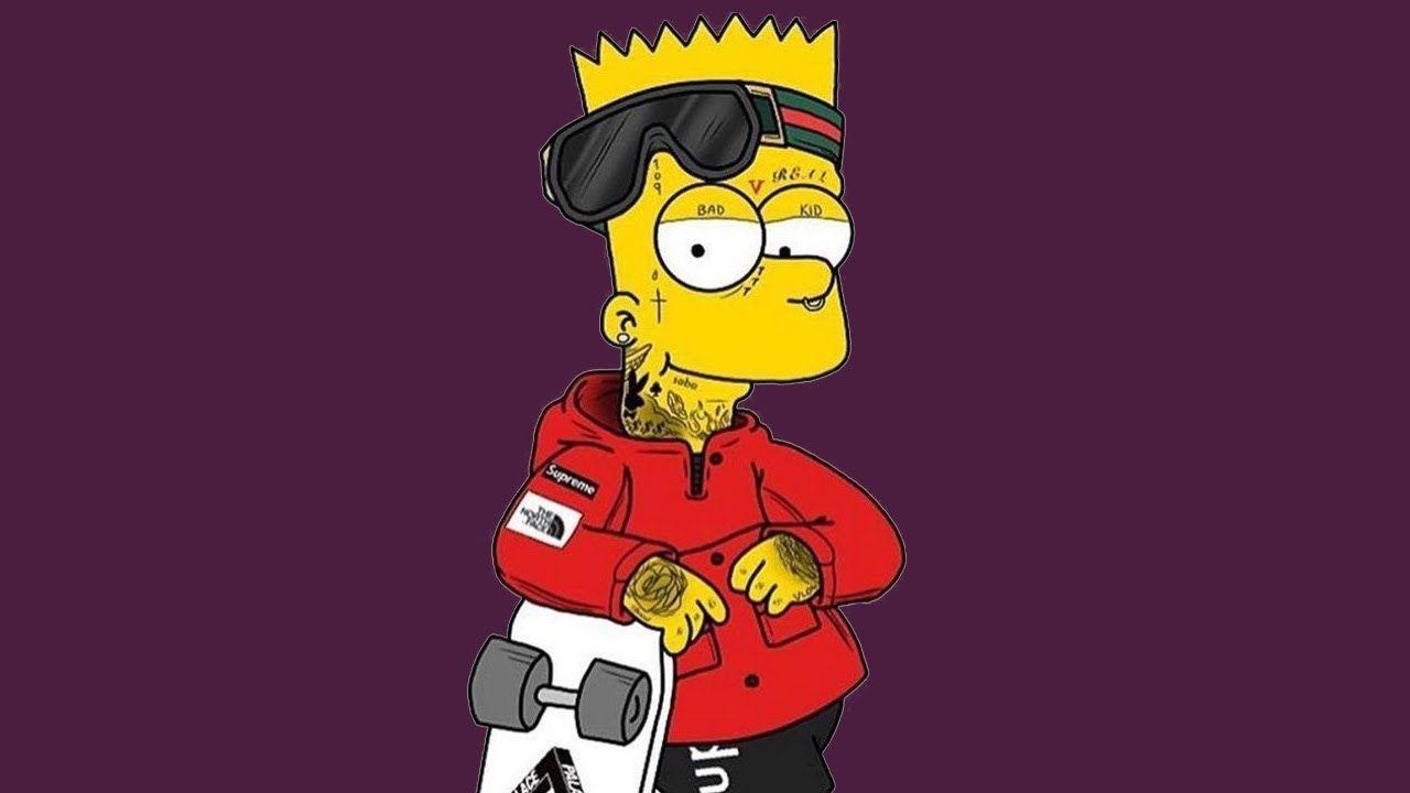Gunna Gucci Mane Lil Baby Type Beat Grind Gucci Mane Bart Simpson Art Lil Baby Gucci mane supreme wallpaper