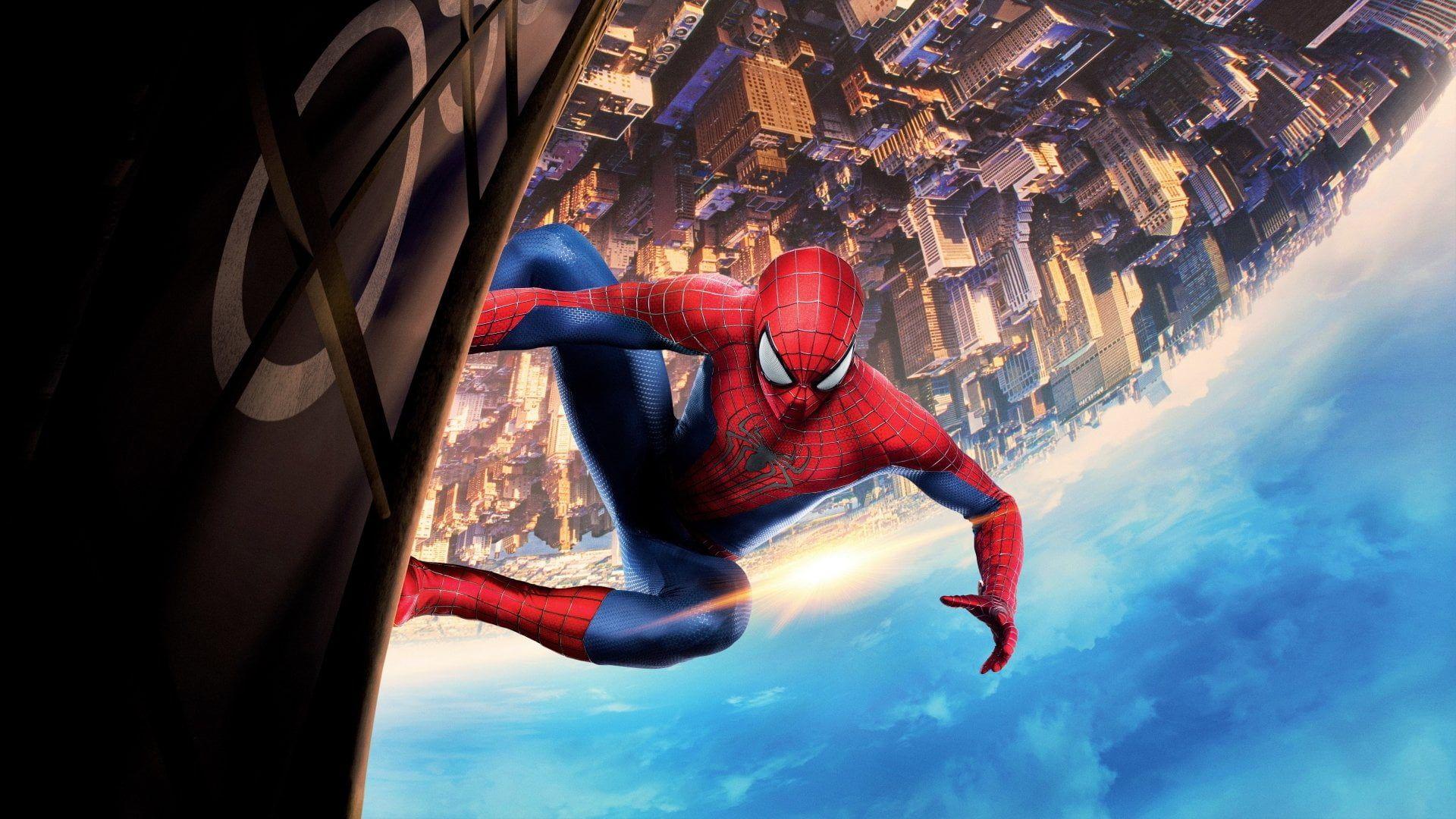 Spider Man The Amazing Spider Man 2 Building Movie 1080p Wallpaper Hdwallpaper Desktop 8k Wallpaper Spiderman 4k Wallpaper For Mobile The amazing spider man 2 wallpaper for