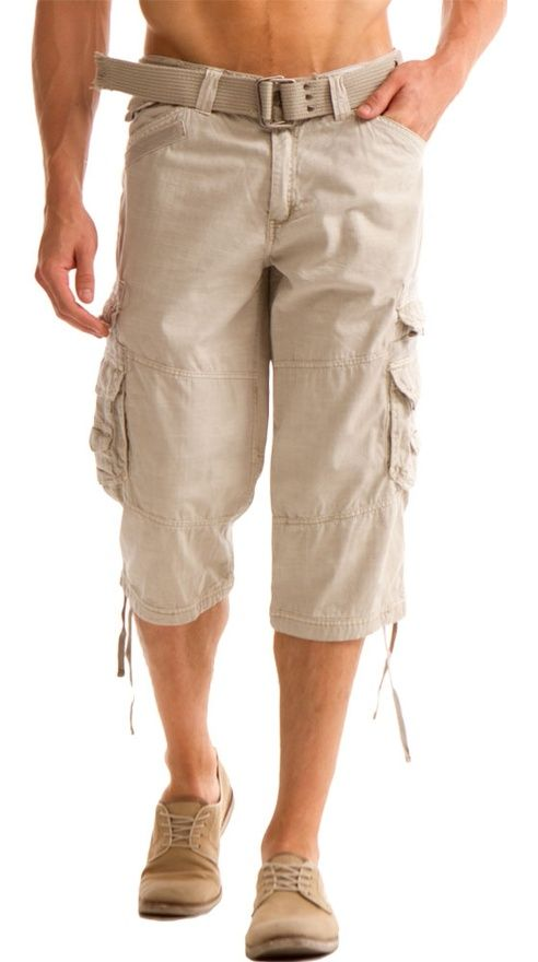 25980268775 say no to capri pants www.vincentsftotd.com Mens Capri Pants