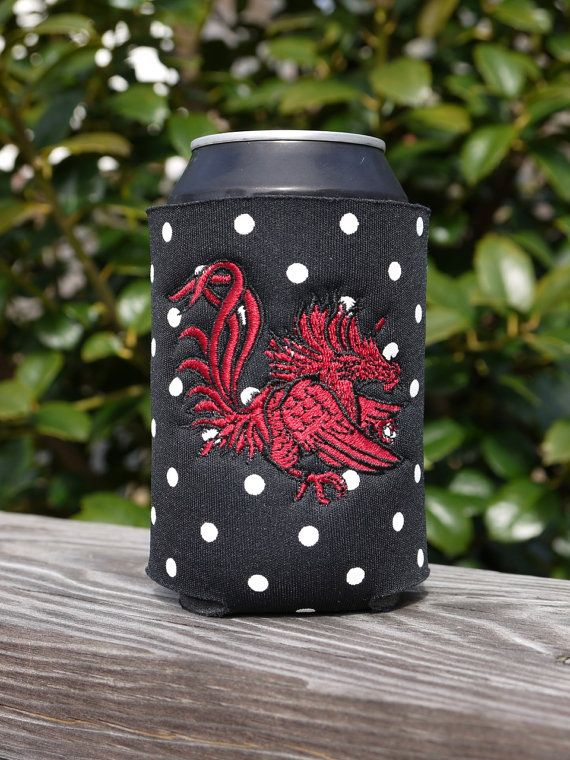 NCAA South Carolina Fighting Gamecocks Bottle Drink Coozie
