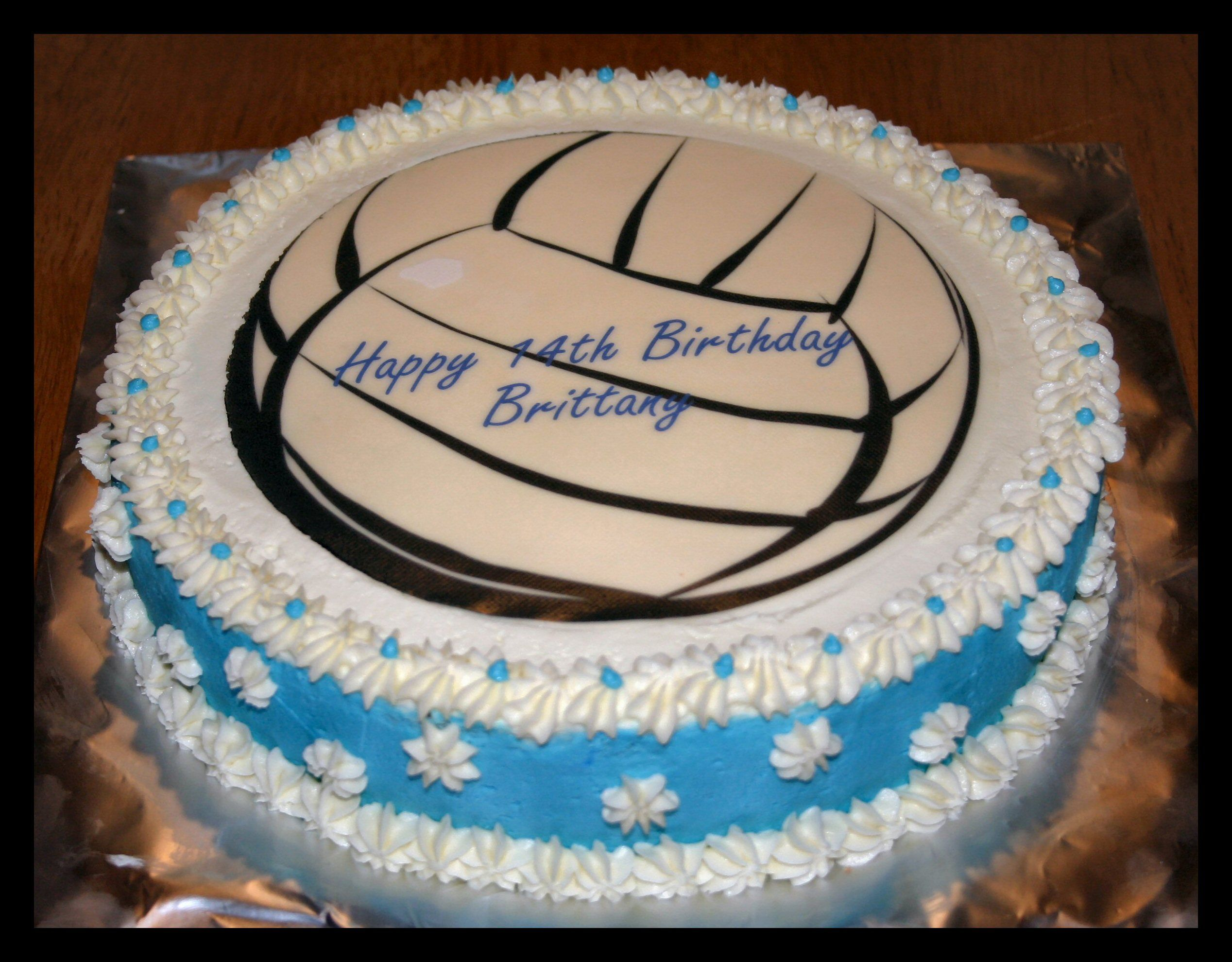 Volleyball Birthday Cake Volleyball Cakes Cake Volleyball Birthday Cakes