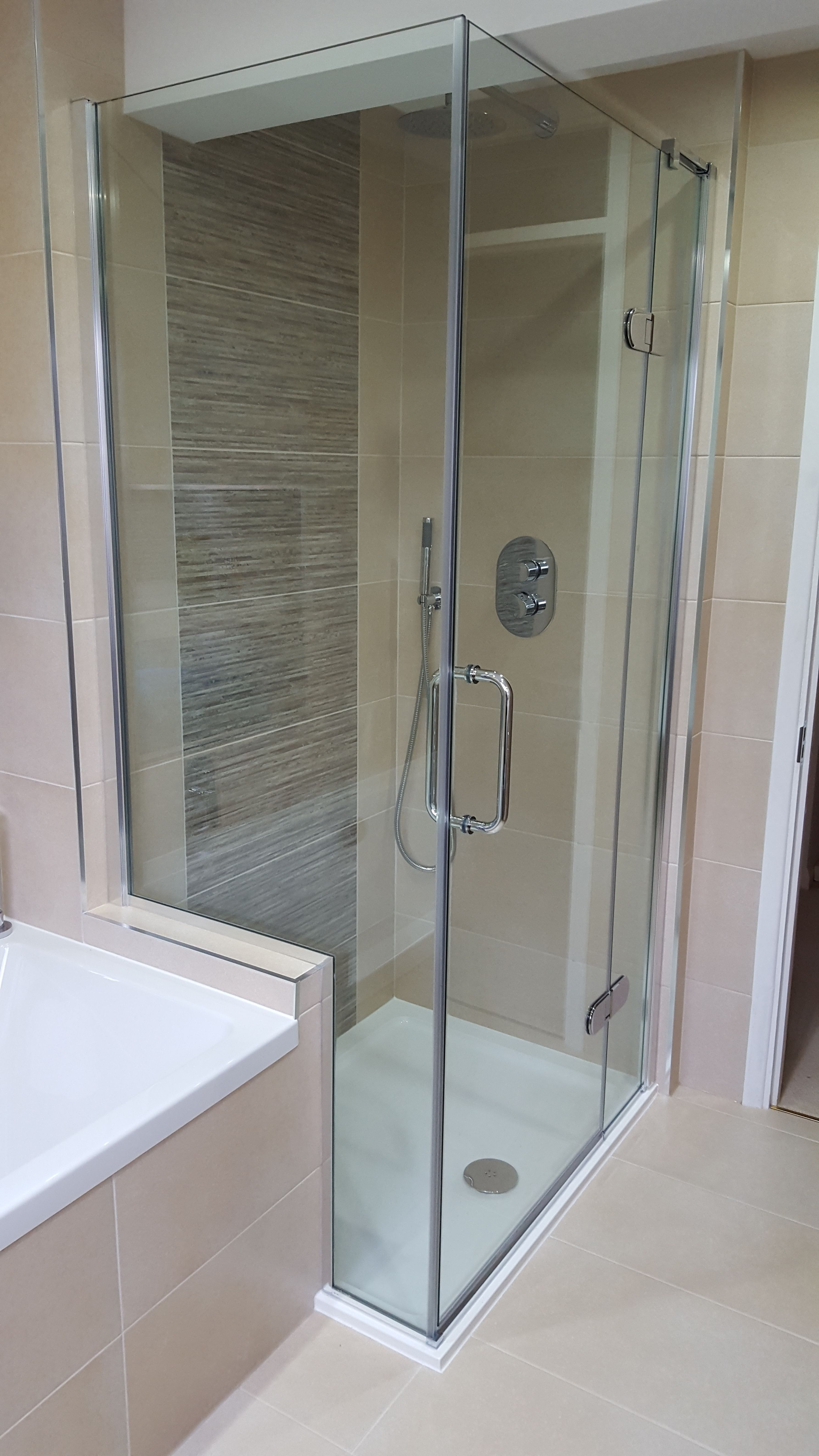Completed bathroom Installation in the West End Surrey ...