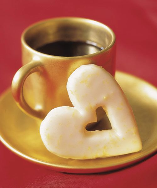 Spread the love this holiday season with these heart-shaped cookies. When giving as a gift, include a few tea bags — these cookies are made for dipping. Get the recipe for Lemon Hearts  - GoodHousekeeping.com