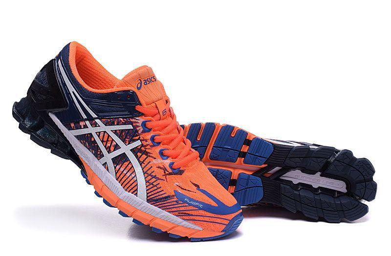 09fcd4444f0 Asics Gel Kinsei 6 MENS Running Shoes Orange Darke-blue