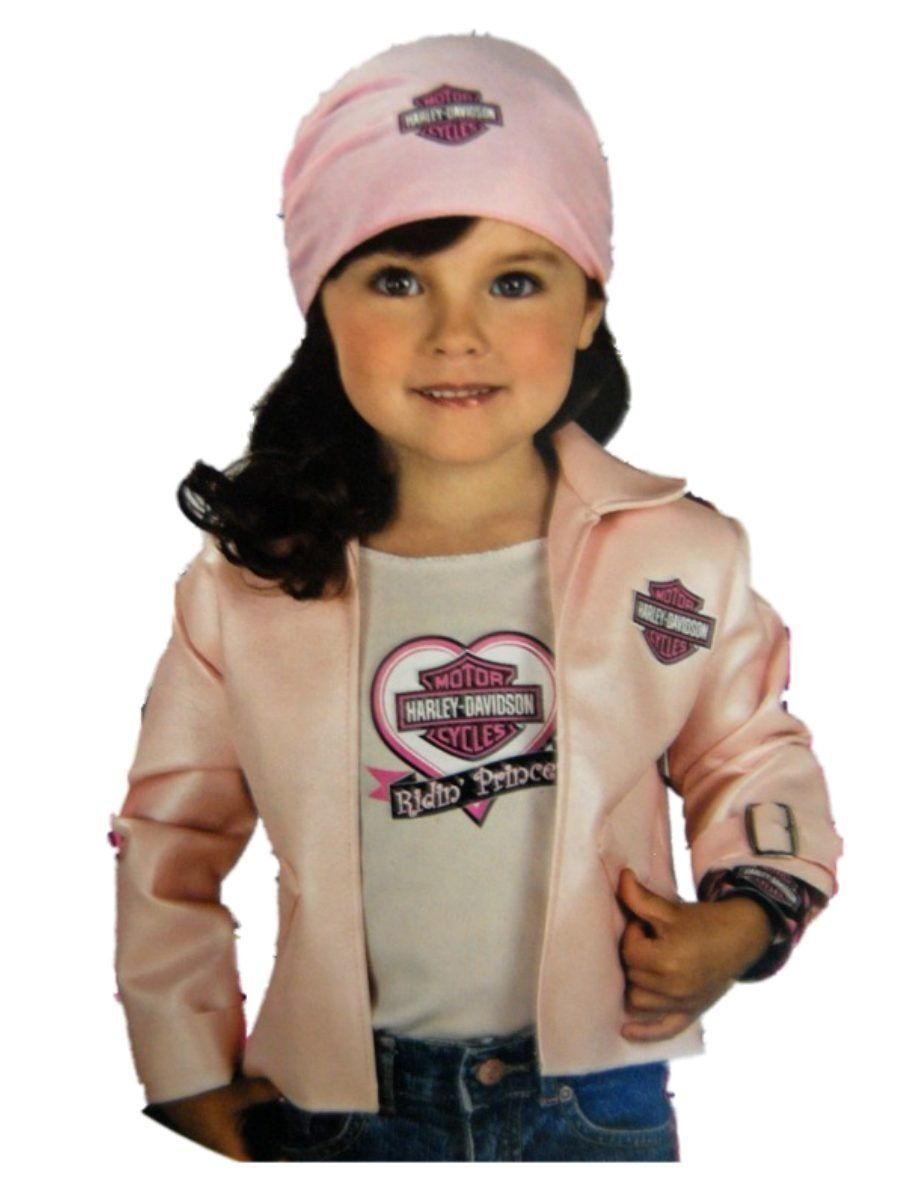 Haloween Biker Princess Costume....my daughter would wear