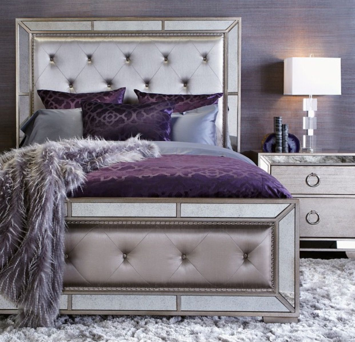 Master bedroom art above bed  Gorgeous color palette  For the crib  Pinterest  Bedrooms Master