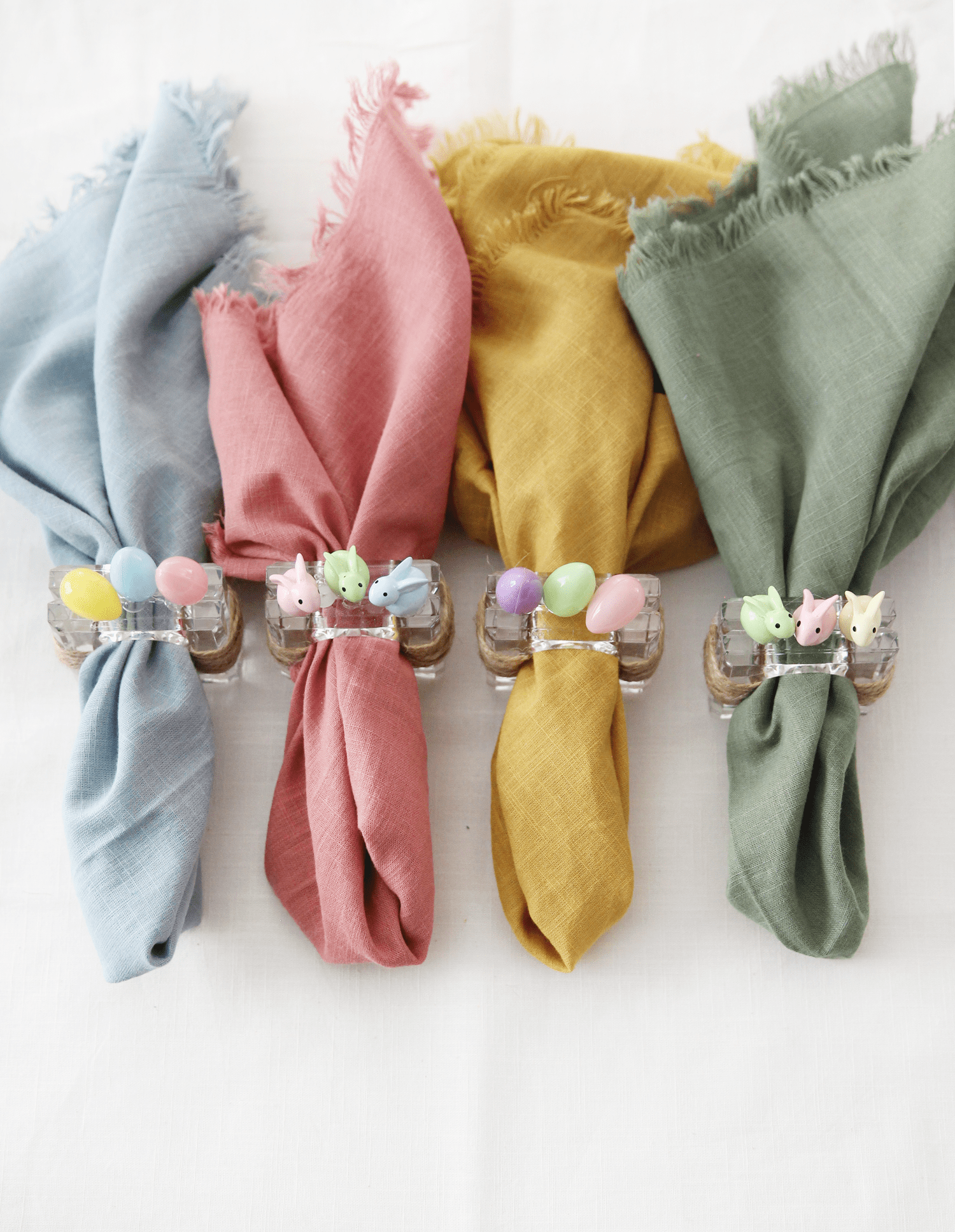 Diy Easter Napkin Rings Blissmakes Easter Napkins Rings Easter Napkins Napkin Rings