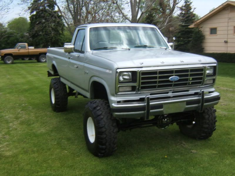 Lifted 85 Ford F250 Great Lakes 4x4 The Largest Offroad Forum