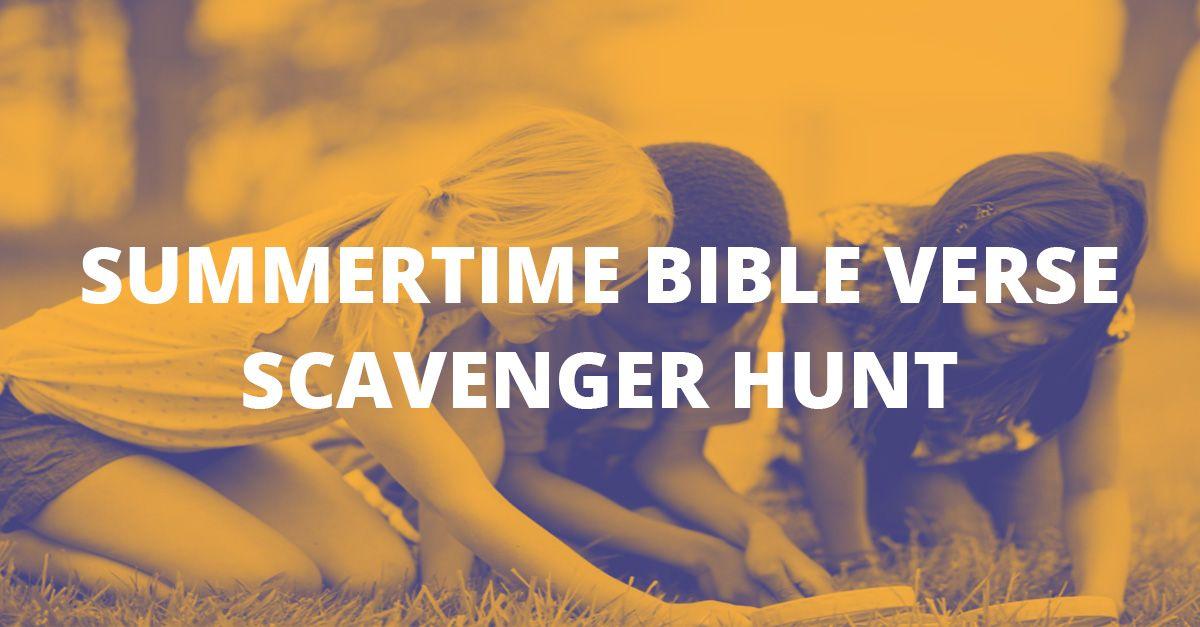 Bible Scavenger Hunt - RachelWojo.com