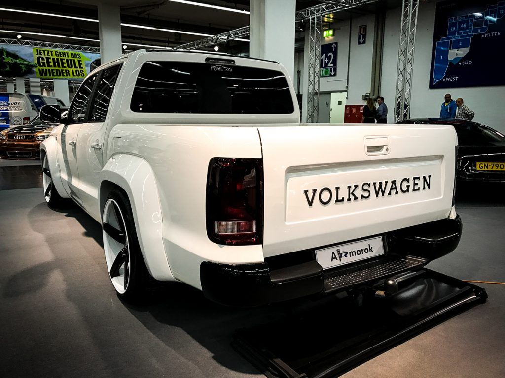 volkswagen amarok tuning highlights essen motorshow 2016 2. Black Bedroom Furniture Sets. Home Design Ideas