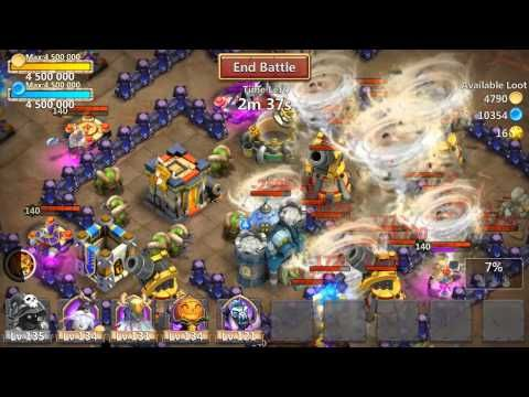 Castle Clash Gameplay Trailer Castle Clash Android Apps Google Play
