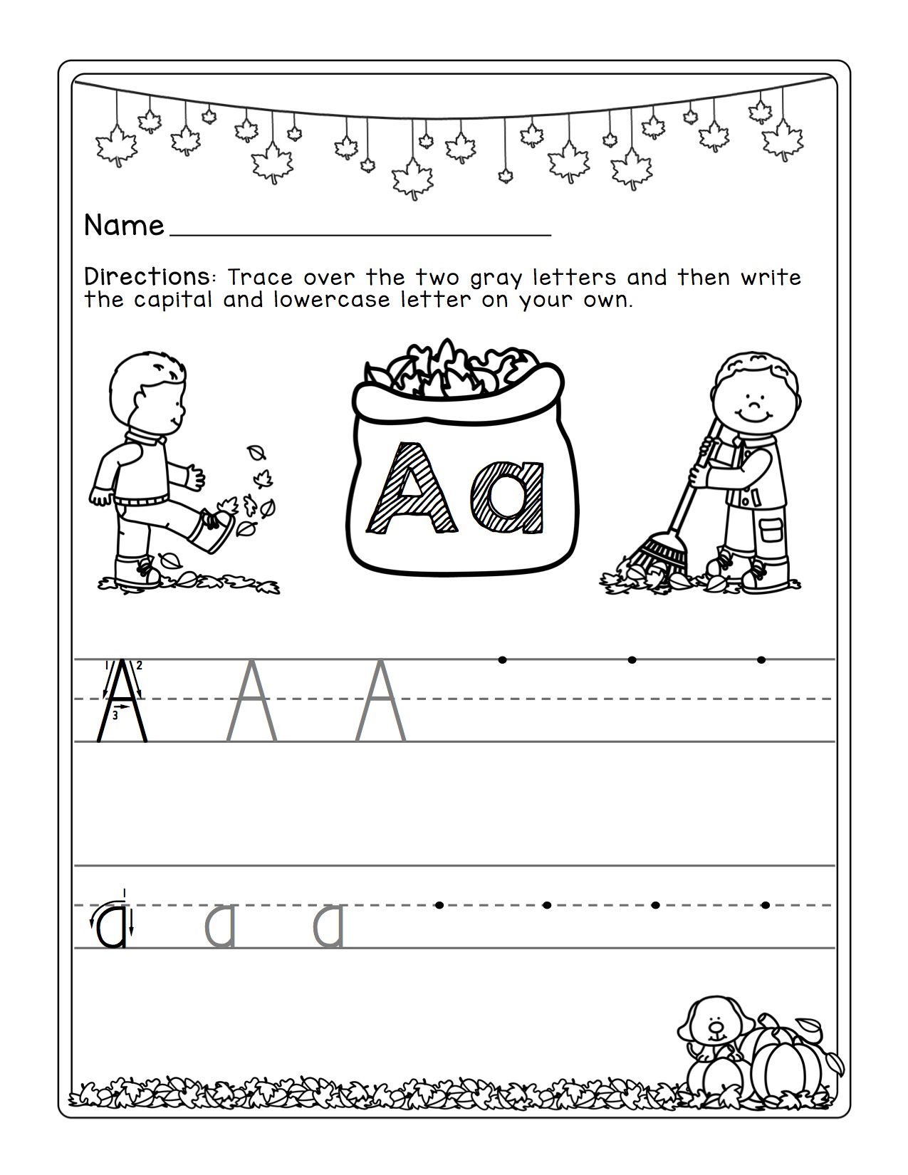 Handwriting Without Tears Letter F Worksheet
