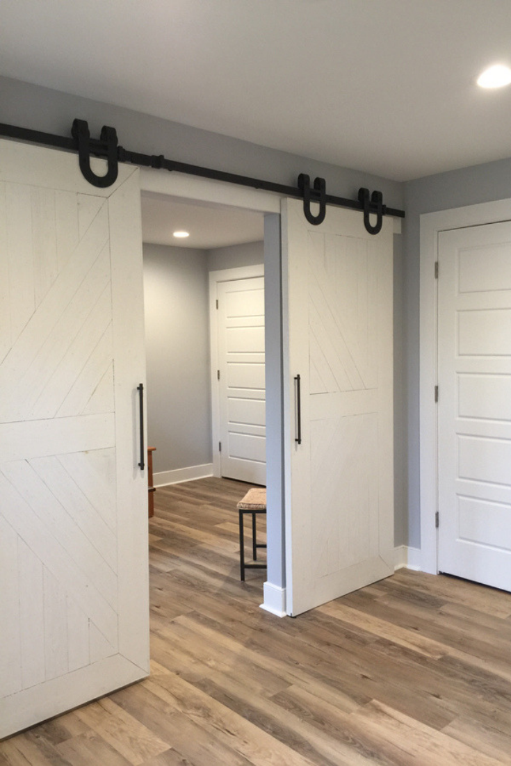 check out this basement conversion and remodel from small and rh pinterest com
