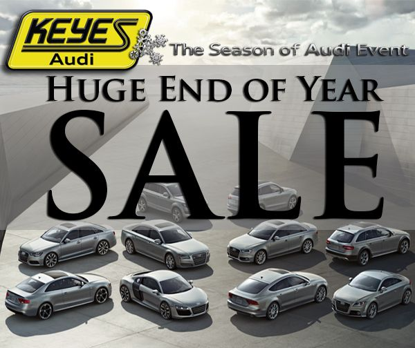 Huge Year-End Keyes Audi Sale Starts Now! Don't Wait