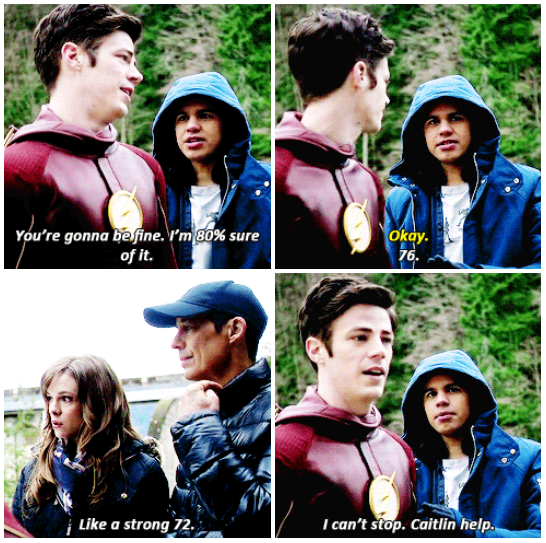 Cisco You Re Not Helping Supergirl And Flash The Flash Grant