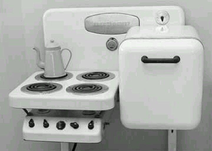 Micro Kitchen For A Tiny Home Vintage Kitchen Appliances