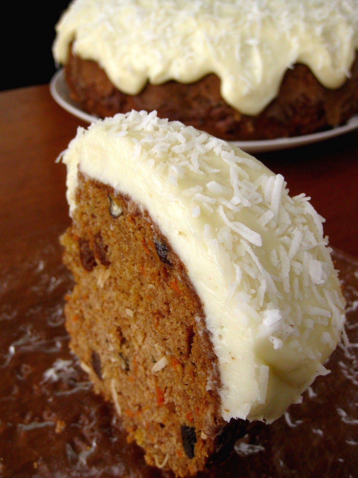 Scientifically Sweet: Loaded Carrot Cake with Coconut Cream Cheese Frosting