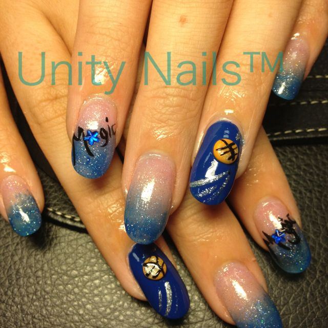 Orlando magic nails! #nails nails #nailart nailart | NAILED it by ...