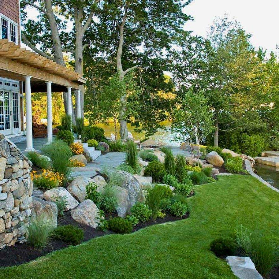 29 Beautiful DIY Landscape Plans You Can Do Yourself For Your Patio | Landscape  Design Designs No. 1533 | #landscaping #landscape_designs #diy_landscape