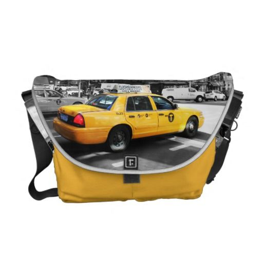 A Yellow Cab in New York Bag