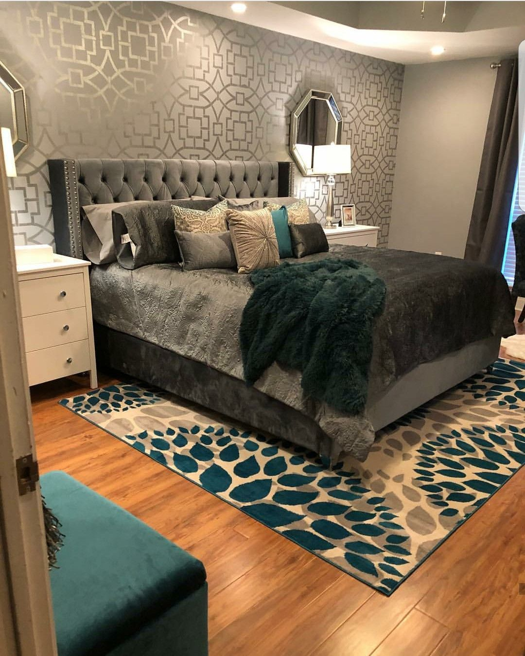 This bedroom is | Home bedroom, Bedroom themes, Home