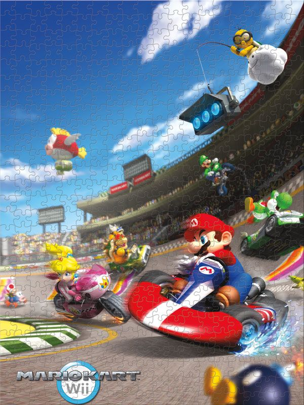 Super Mario Cart Puzzle Relive The Fun And Excitement From The