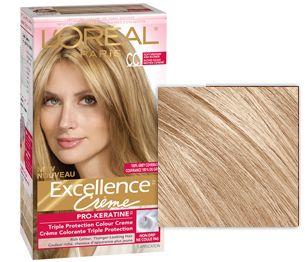 Excellence Pro Keratine Medium Ash Blonde Ash Blonde Medium