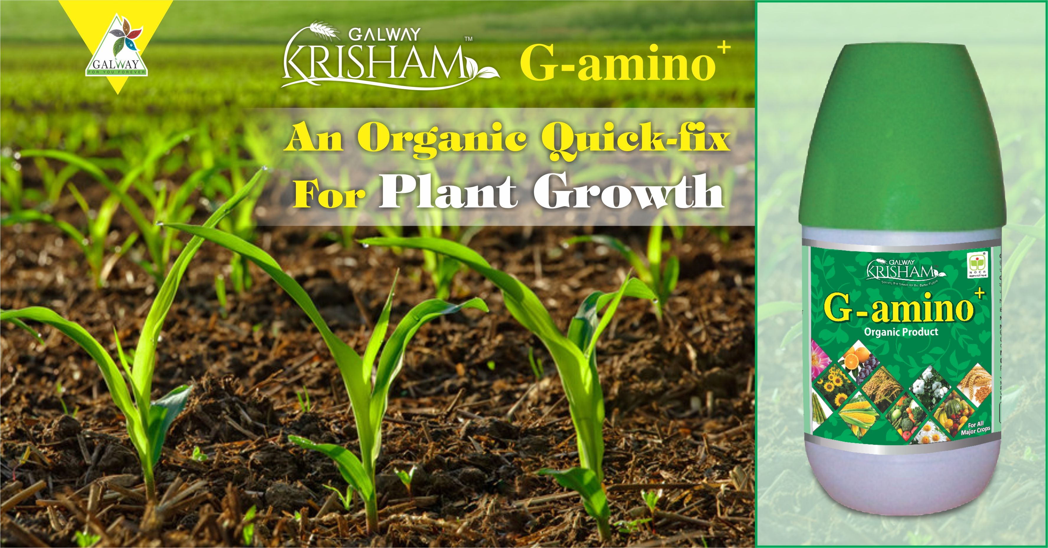 Help your plants grow faster with #GAmino  This organic