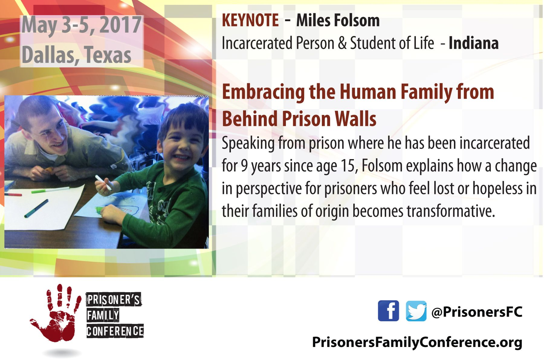 Miles Folsom Incarcerated Person & Student of Life