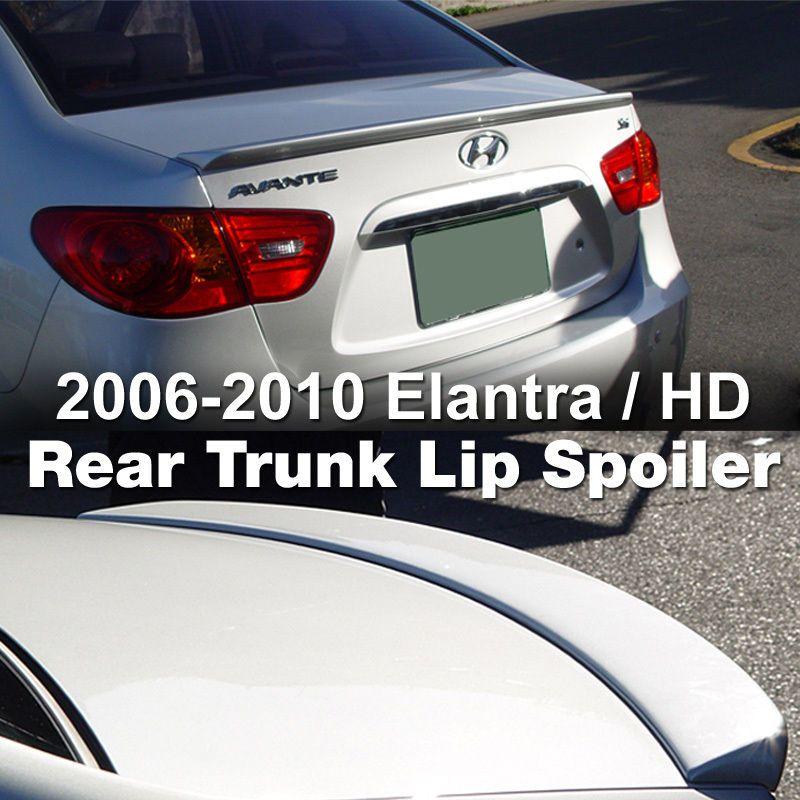 Rear Trunk Lip Spoiler For Hyundai 2006 2007 2008 2009 2010 Elantra Avante Hd Hyundai Elantra Bmw Car