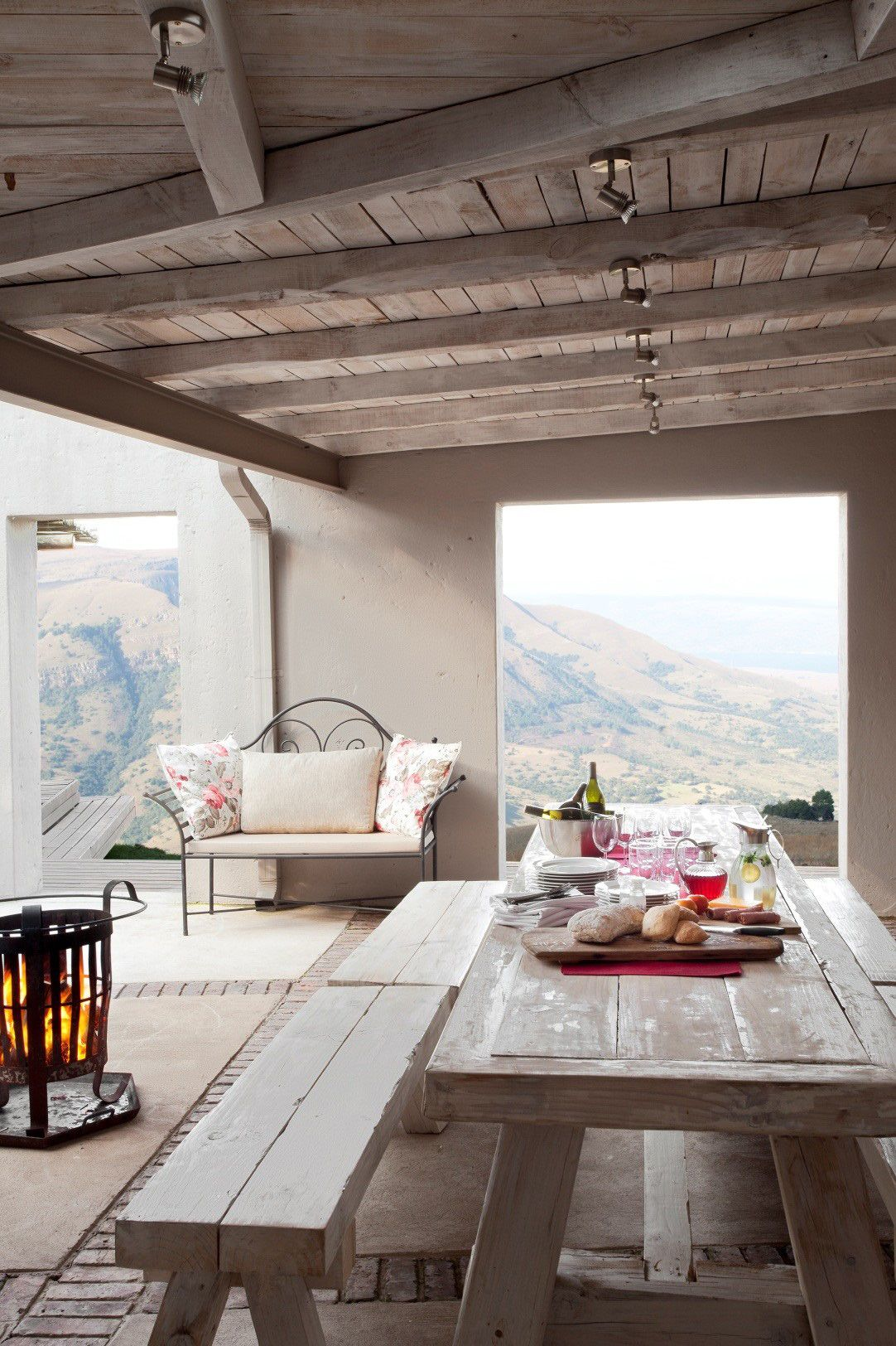 After a disastrous fire, this Dullstroom farmhouse was lovingly rebuilt and redecorated. View our image gallery of the house here.