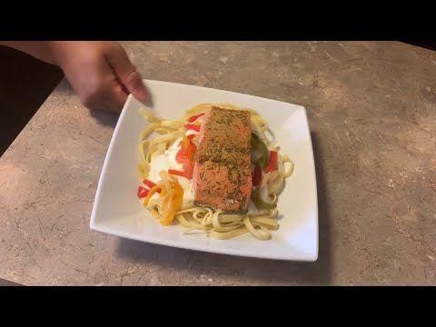 Tasty Tuesday At Home: Salmon glaze with alfredo sauce recipe