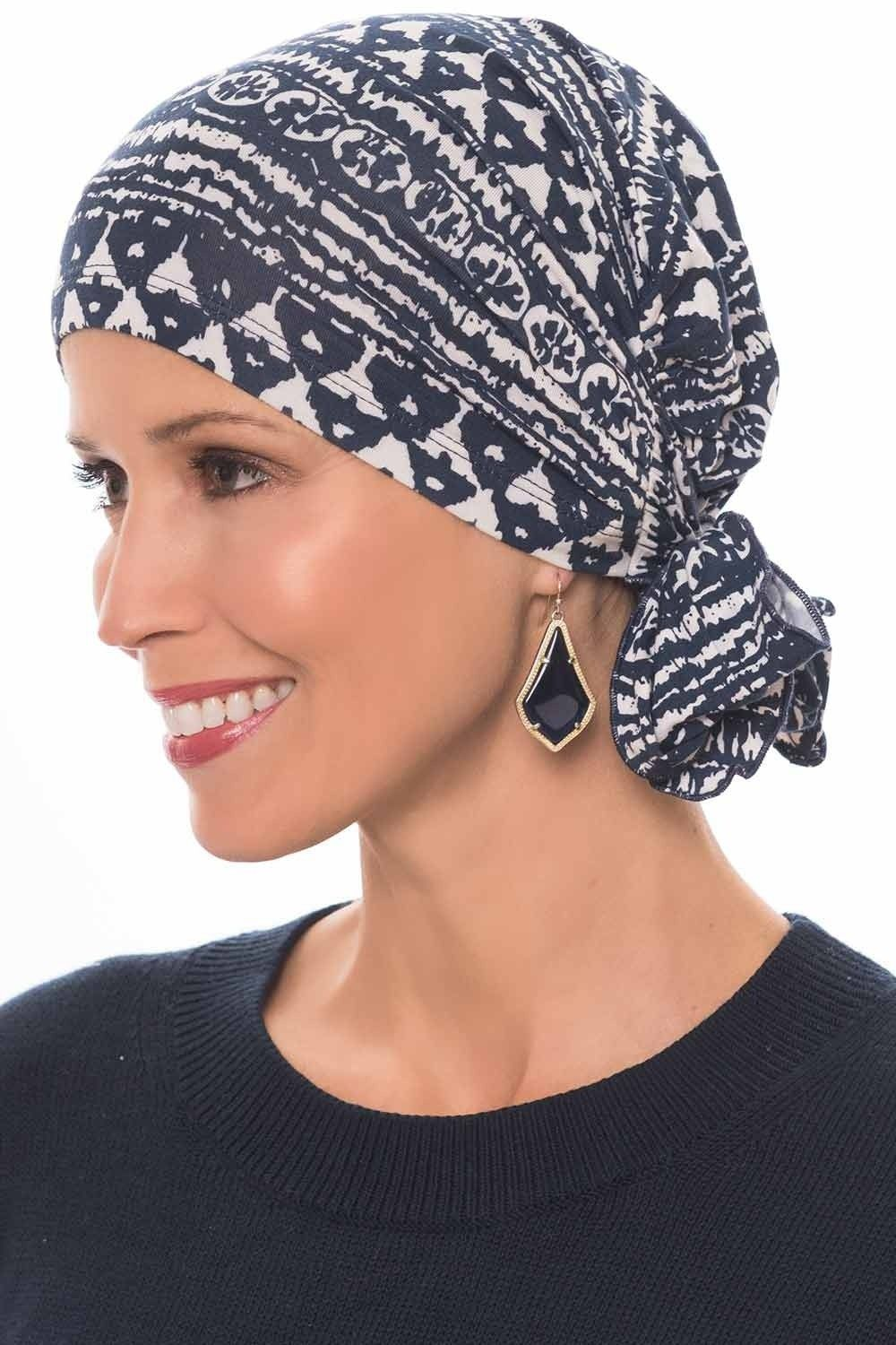 Cardani Easy On Pre Tied Head Scarf in Bamboo | Ready Tie Scarves #tieheadscarves