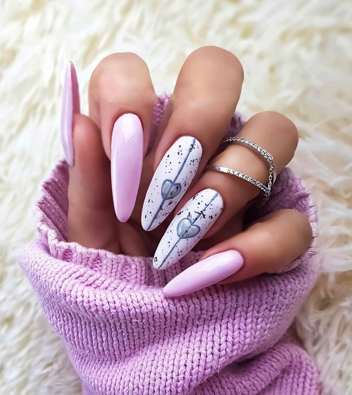 Photo of 86 Ideas Heart Nails for Your Valentines