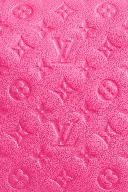 04dfddd8b557 Think pink and Louis Vuitton!
