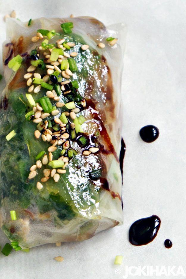 Possua riisipaperissa / Jokihaka kokkaa