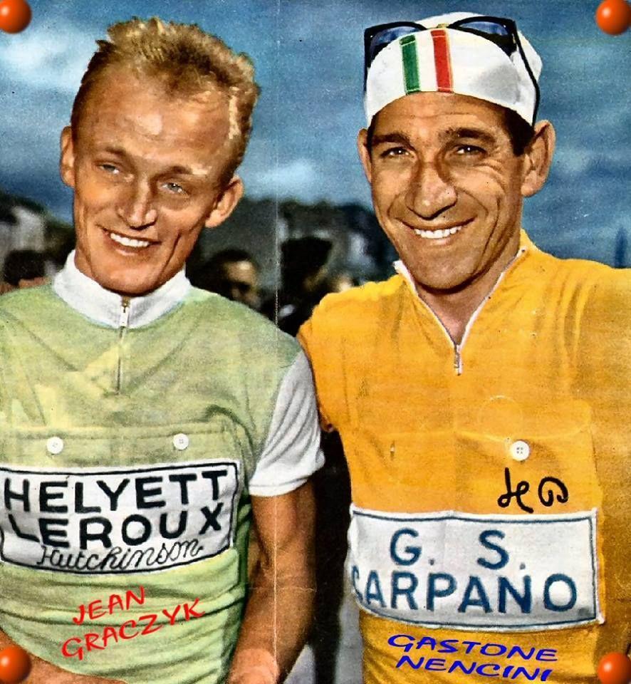 Jean Graczyk Gastone Nencini Bicicletta, Ciclismo