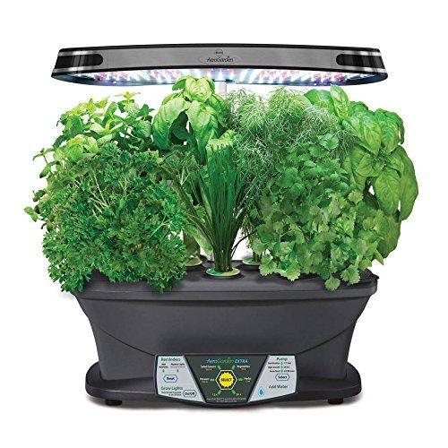 Aerogarden Extra Led Indoor Garden With Gourmet Herb Seed Kit Available At Shopledgrowlights Com Listas De Desejos Leds