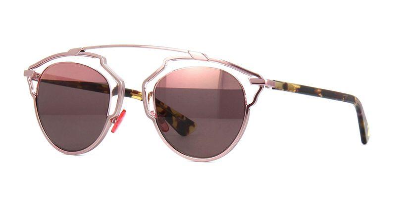b4be5eb8ccd Dior So Real KM98R Pink and Havana Sunglasses